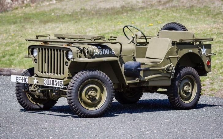 Абсолютно новый автомобиль времён Второй мировой в посылке