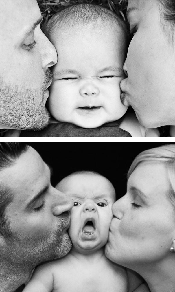 Очень милая и нежная детская фотосессия