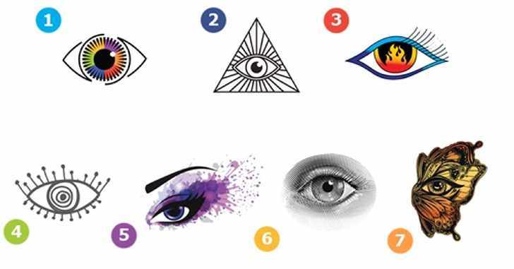 Тест. Глаза - зеркало души