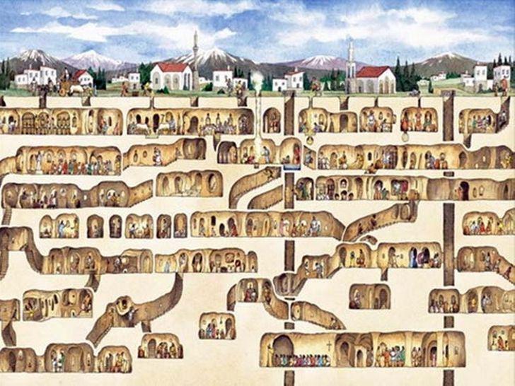 9 удивительных городов под землёй