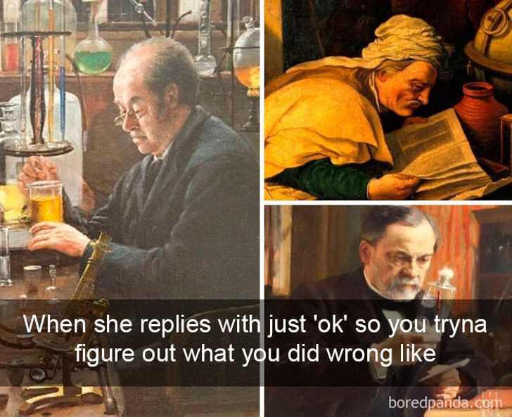 25 старинных картин с современными комментариями
