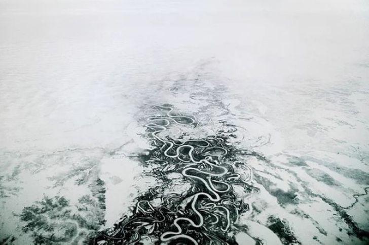Как живётся среди вечной мерзлоты - 14 фото из Норильска