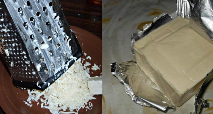 Хрустящее солёное печенье из плавленных сырков