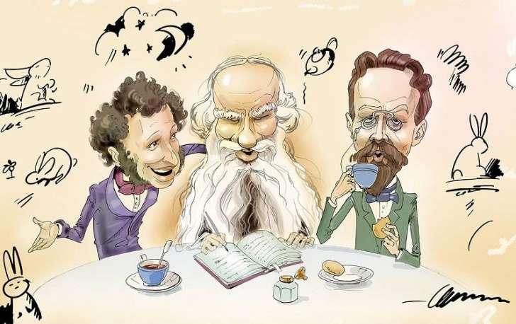 Великие писатели и фейсбук - что можно было бы прочитать в их аккаунтах