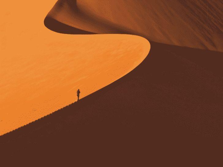 14 фотографий, доказывающие, что человек — песчинка в этом мире
