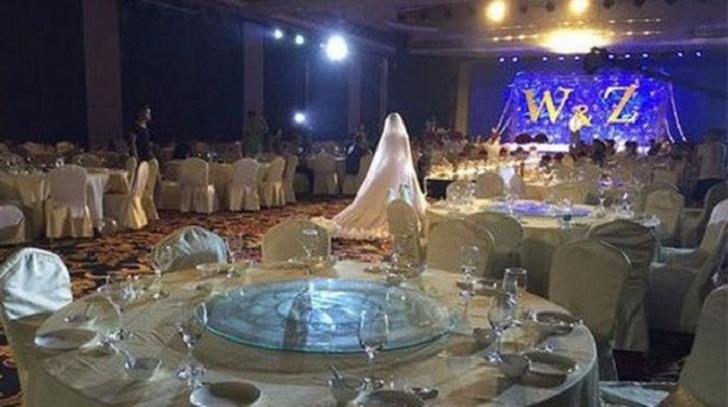 Мир тронут свадьбой, на которую никто не пришел…
