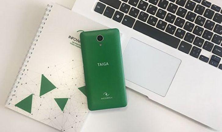 В России разработан антишпионский смартфон «Тайгафон»