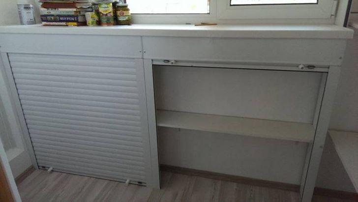 Мастер-Класс - Как сделать шкафчики на балконе