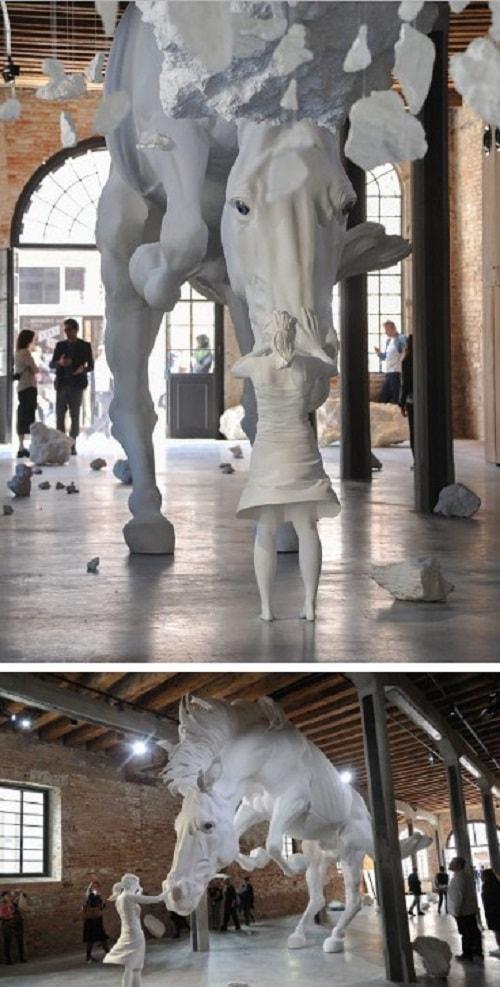11 масштабных произведений искусства последнего времени