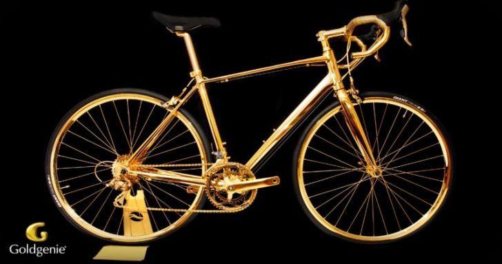 Золотой велосипед за 250 000 фунтов стерлингов - Подарок, который можно купить один раз в жизни