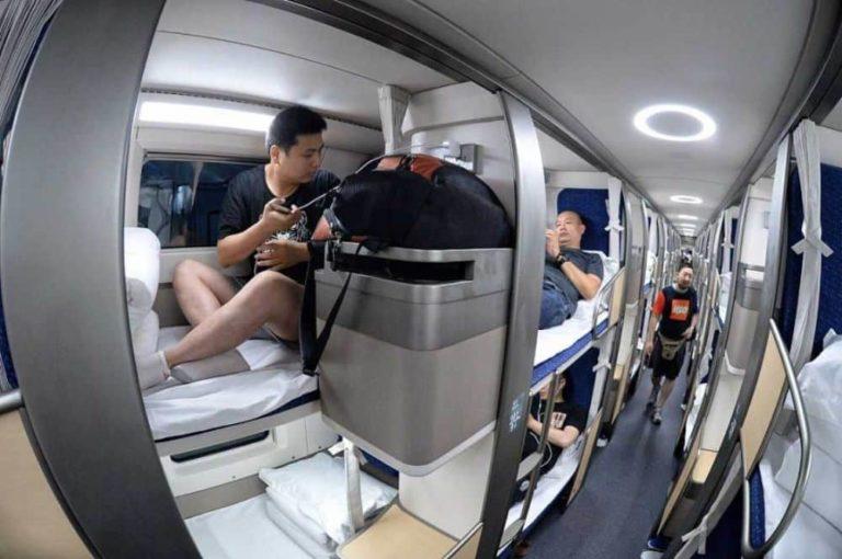 Так теперь выглядят плацкартные вагоны в Китае, и этому можно только позавидовать